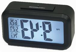 1.5 LCD NUMBER ALARM CLOCK WITH LIGHT SENSOR FOR NIGHT TIME