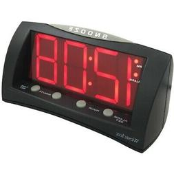 1.8 OVERSIZED SNOOZE ALARM CLOCK
