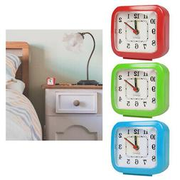 1 Analog Alarm Clock Vintage Retro Classic Bedroom Bedside B