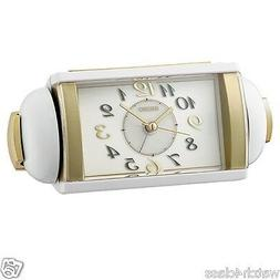 100% Seiko Super loud Bell Alarm Clock QHK047W volume contro