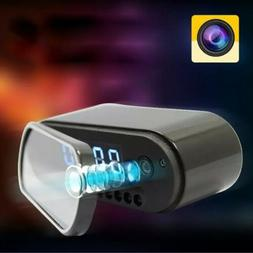 1080P HD Mirror Alarm Clock Hidden Syp Camera Security Cam D
