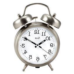 Equity by La Crosse 13017 Analog Twin Bell Quartz Alarm Cloc