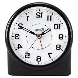 14080 Analog Night Vision Alarm Clock for Home Alarm Clocks
