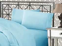 Elegant Comfort Luxury Soft 1500 Thread Count Egyptian 4-Pie