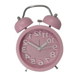 1pc Bell Small Clock Creative Cute Bell Small Alarm Clock Al