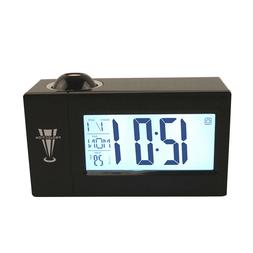 1pc Projection Alarm Clock 12/24 Hours Table Battery Operate