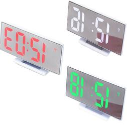 1pc Simple LED Large Screen Alarm Clock Electronic Watch for