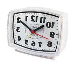 Westclox 22192 Electric Alarm Clock with Constant Lighted Di