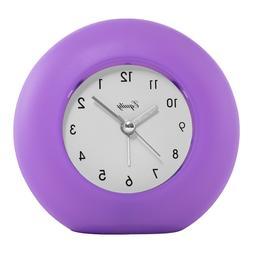 Equity 25300 Quartz Frosted Alarm Clock