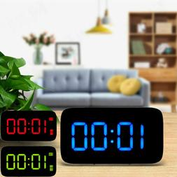 3 5 alarm clock large digital led