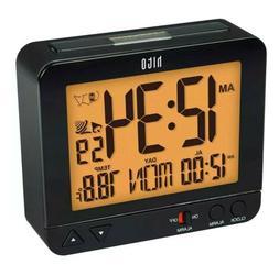 "HITO 3.8"" Digital Battery Atomic Alarm Clock Bedside Travel"