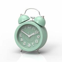 "Pilife 3"" Cute Alarm Clock For Heavy Sleepers,Vintage Analog"