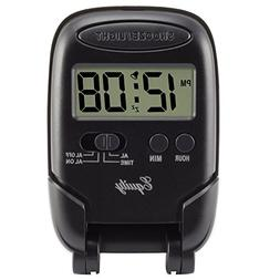Equity by La Crosse 31302 LCD Fold-Up Travel Alarm Clock