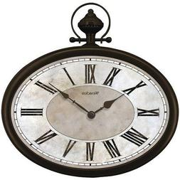 "Westclox 32926 Pocket Watch Clock 16"" Oval Pocket Watch Wall"