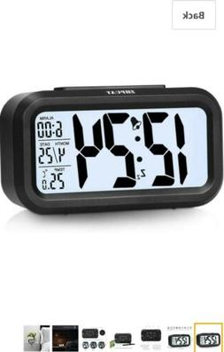 """ZHPUAT 4.6"""" Smart Backlight Alarm Clock with Dimmer"""