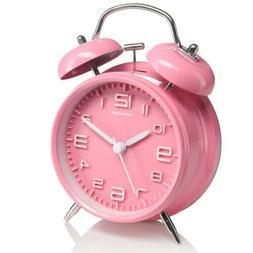 "Peakeep : 4"" Twin Bell Alarm Clock"
