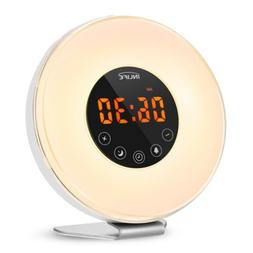 6639 Wake-up Light with FM Radio Time LED Display Sunrise Al