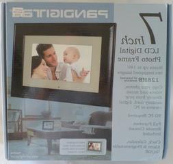Pandigital 7-inch Digital Photo Frame Model PAN707-B Clock,