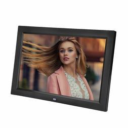 "7"" Inch HD Digital Photo Frame with Alarm Clock Multimedia P"