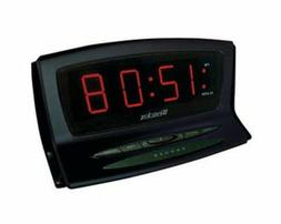 Westclox 70028 1.8-Inch Red LED Plasma Alarm Clock