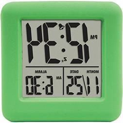 EQUITY 70903 Soft Cube Lcd Alarm Clock