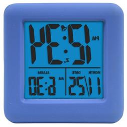 Equity by La Crosse 70905 Equity Soft Cube Lcd Alarm Clock B