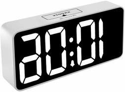 DreamSky 8.9 Inches Large Digital Alarm Clock with USB Charg