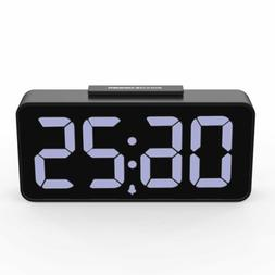 8 9 large display led alarm clock