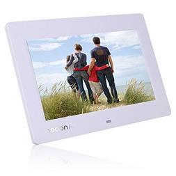 Andoer 8'' HD TFT-LCD Digital Photo Frame Alarm Clock MP3 MP