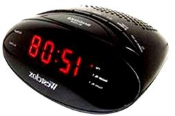 Westclox 80205 Dual Alarm Clock Radio