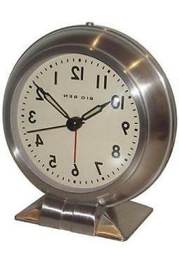 Westclox 90010 Big Ben Silver Metal Case