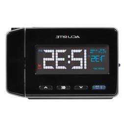 AcuRite 13021 Atomic Projection Alarm Clock with USB Chargin