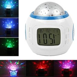 Alarm Clock Children Sleep Clock Color Change Starry Night S