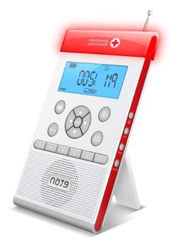 American Red Cross ZoneGuard Weather Radio - White