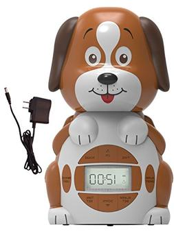 Big Red Rooster BRRC101AC Dog Projection Alarm Clock, Operat