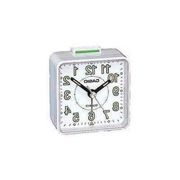 Casio- Tq-140-7Ef Beep Alarm Clock - White
