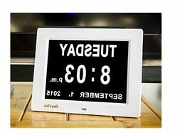 DayClox The Original Memory Loss Digital Calendar Day Clock