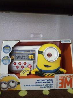 Despicable Me Minion Alarm Clock/Sleep Timer with Night Ligh