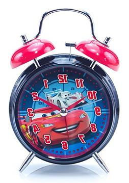 Disney-Pixar Cars Twin Bell Alarm Clock: Lightning McQueen