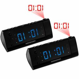 Electrohome EAAC475 Projection Auto Time Set Clock Radio