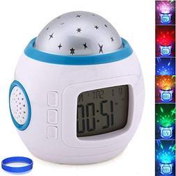 JOYSTAR,StarLEDClock02,Bedroom Alarm Clock Sky Star Night Li