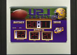 LSU Tigers Football Scoreboard Desk Alarm Clock