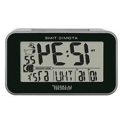 La Crosse Technology 617-1270 Atomic Digital Alarm Clock, Bl
