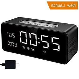 Orionstar Alarm Clock Radio with FM, Wireless Speaker for Be