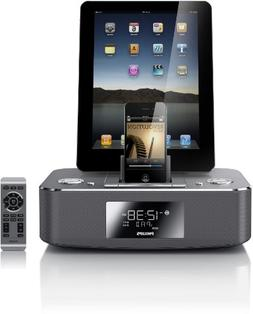 Philips DC390/37 Dual-Docking 30-Pin iPod/iPhone/iPad Alarm