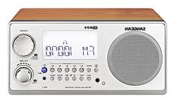 Sangean All in One AM/FM Alarm Clock Radio with Large Easy t