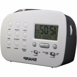 Sharp Spc570 Projection Alarm Clock with Nature Sounds