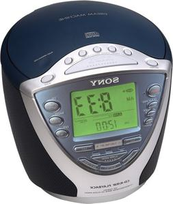 Sony Dream Machine ICF-CD843V CD Clock Radio with Digital Tu