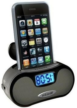 Westclox 81003 MP3 iPod/MP3 Speaker Alarm LCD