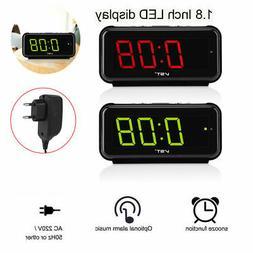 AC220V Electronic Table Digital Alarm Clock Desktop Large LE